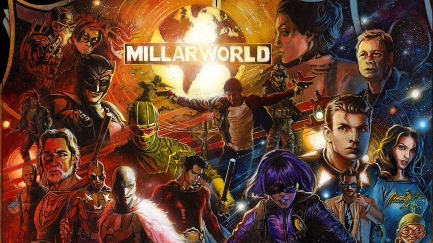 Millarworld unveils it's plans for Netflix takeover!