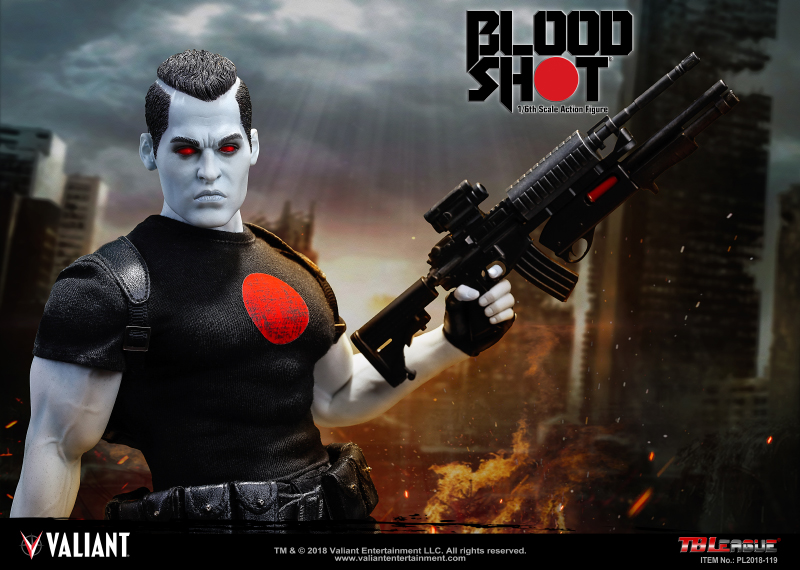 Valiant and Phicen Announce the BLOODSHOT 1/6 SCALE ACTION FIGURE – Now Available for Pre-Order!