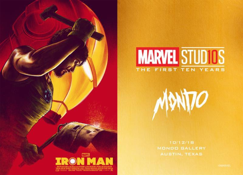 Mondo celebrates 10 years of Marvel Studios