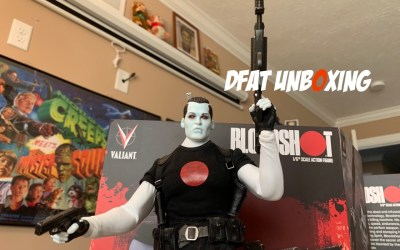 DFAT Unboxing: Valiant Bloodshot 1/6th Scale Action Figure!
