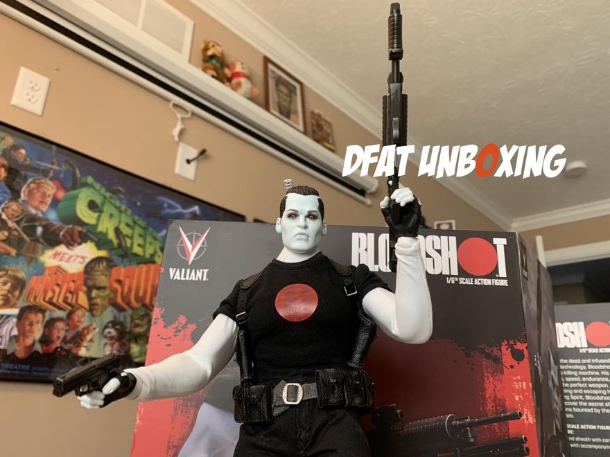 DFAT Unboxing: Valiant Bloodshot 1/6th Scale Action Figure!