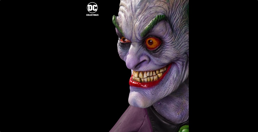 Watch Makeup Master Rick Baker Sculpt The Joker in new time-lapse video!