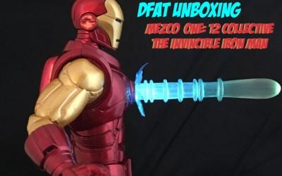 DFAT Unboxing: Mezco One:12 Collective Invincible Iron Man