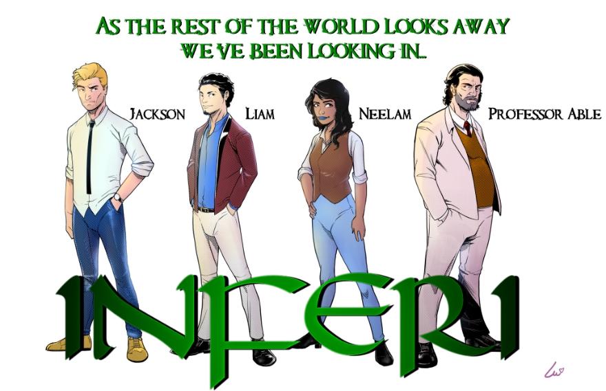 DFAT Comics unveils upcoming comic book release: INFERI