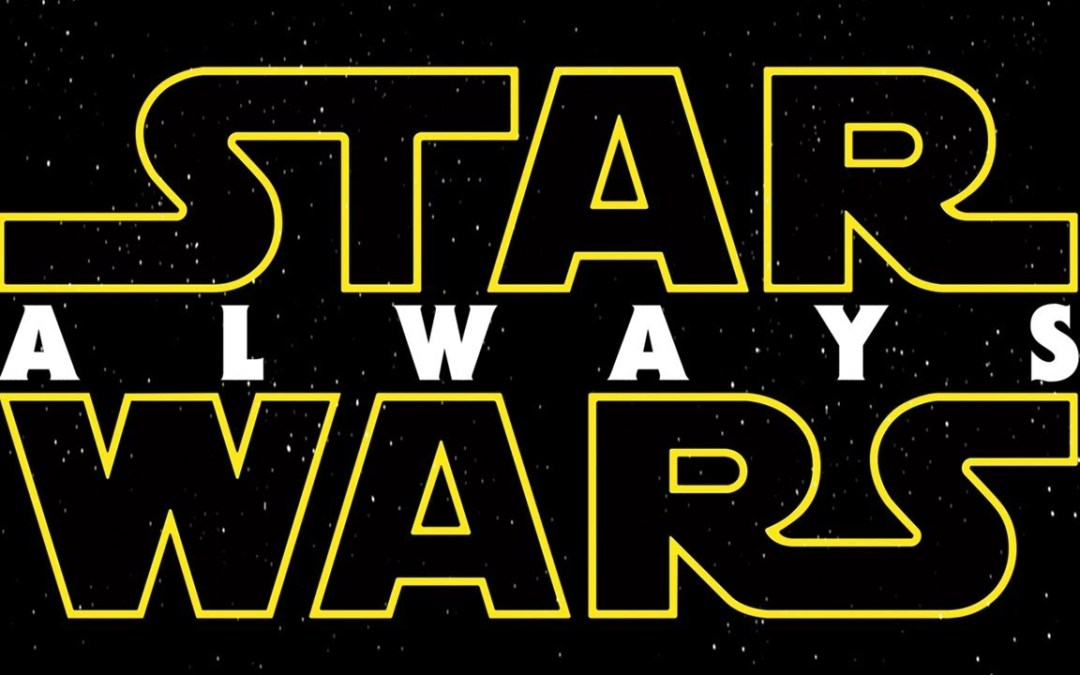 Star Wars: Always is Topher Grace's supercut of all the Star Wars films!