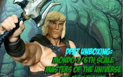 DFAT Unboxings: Mondo Exclusive MOTU He-man 1/6 scale figure