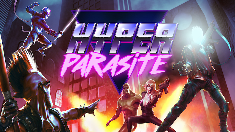 SNATCH ZAP and SHOOT – HyperParasite is out on Steam Early Access