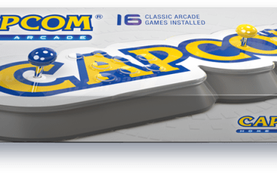 Capcom releasing 16 classic games via a plug-and-play arcade stick!