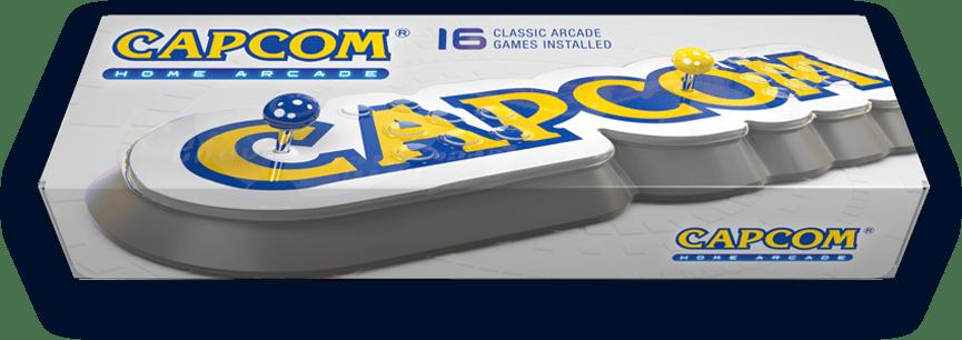 Capcom releasing 16 classic games via a plug-and-play arcade stick!