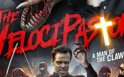 A Jurassic Priest emerges in first trailer for The Velocipastor