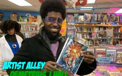 Artist Alley – Demetrius J Hall, creator of The Etherians