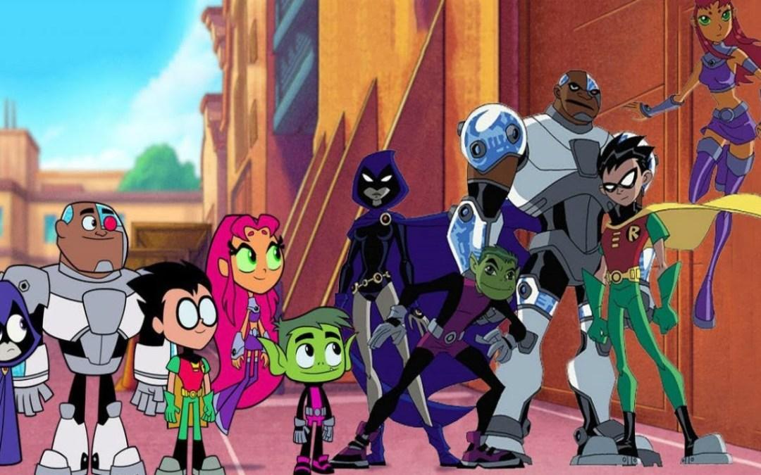 Teen Titans Go! vs Teen Titans trailer