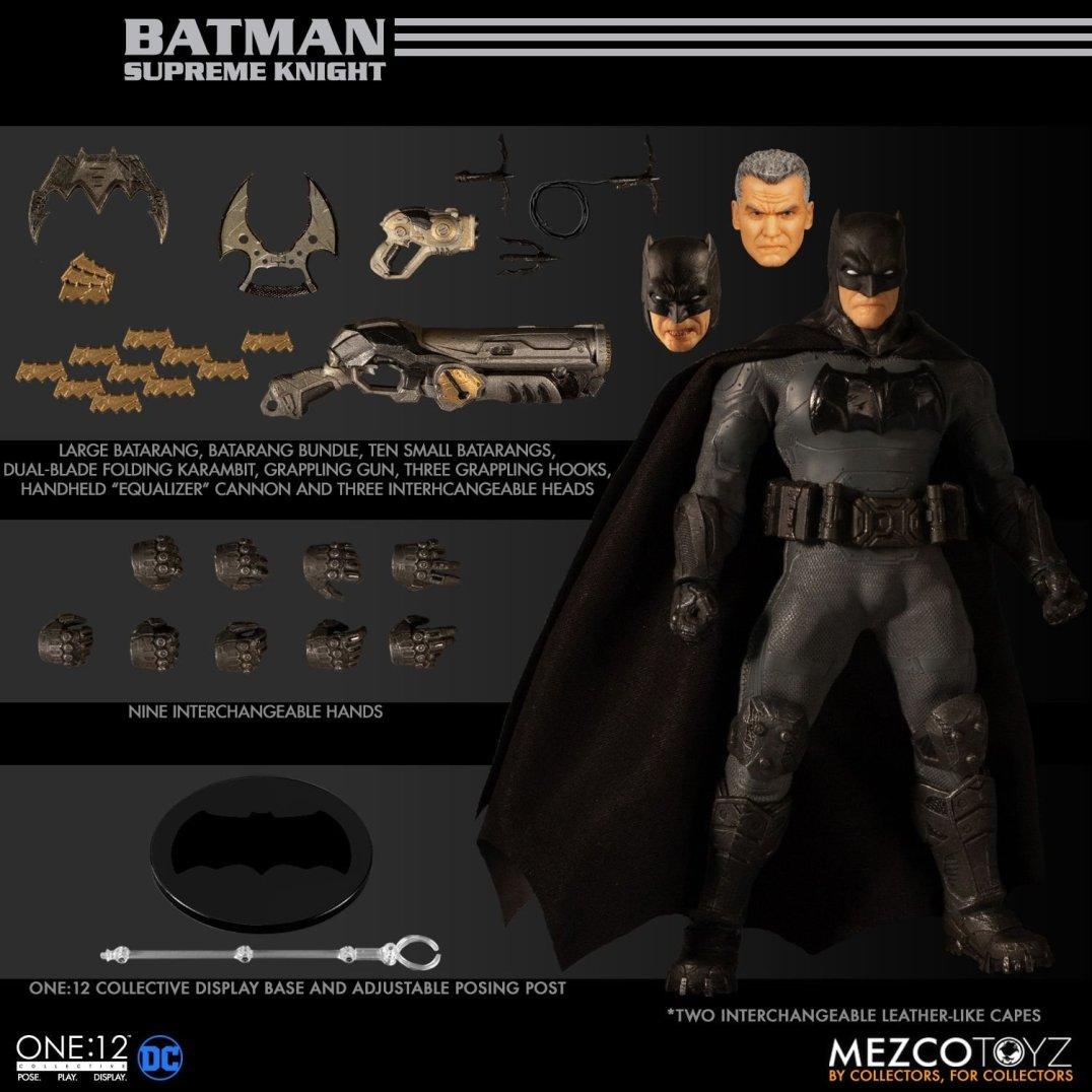 Mezco One12 Supreme Knight Batman 03