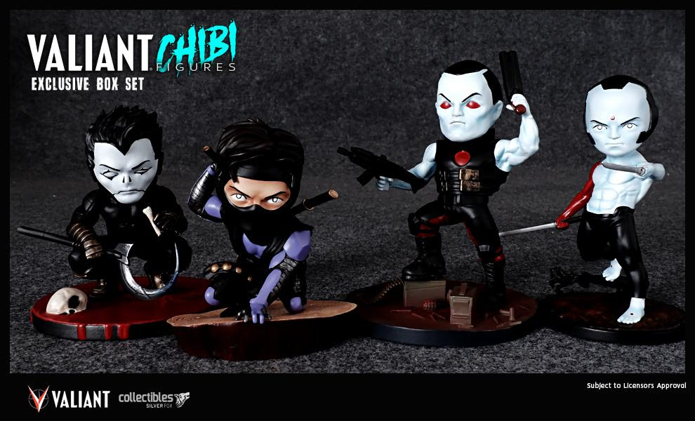 Valiant Chibi Figures Now Available for Preorder!