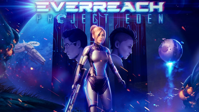 Everreach: Project Eden is the sci-fi epic video game you've been looking for!