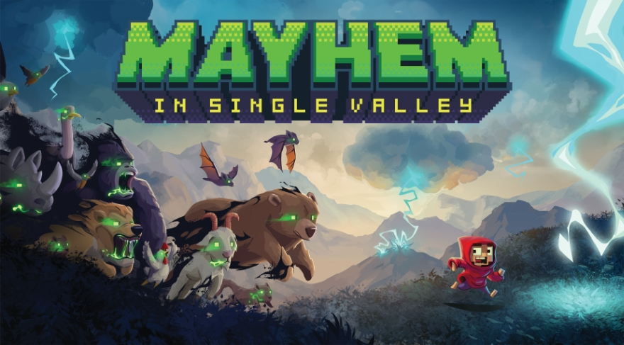 Mayhem in Single Valley: Stranger Things meets Zelda w radioactive squirrels