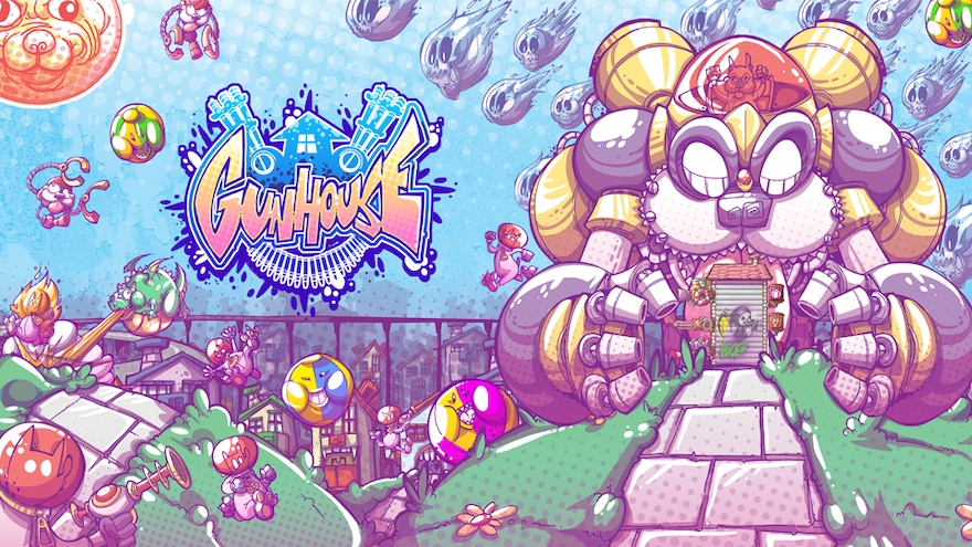 Puzzle meets tower defense – Gunhouse comes to PC!