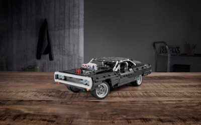 Dom's Dodge Charger from Fast & Furious is coming to life from LEGO