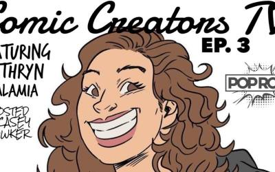 Casey chats with Kathryn Calamia from ComicUno via PopRoc in Rochester NY