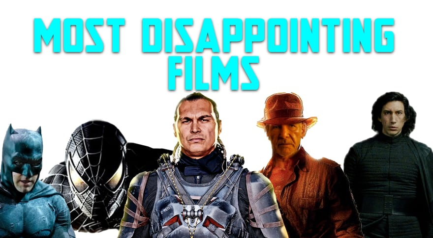 Those Geeks You Know Episode 100 – Most Dissapointing Films
