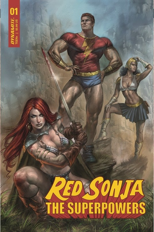 Red Sonya vs Superpowers 01