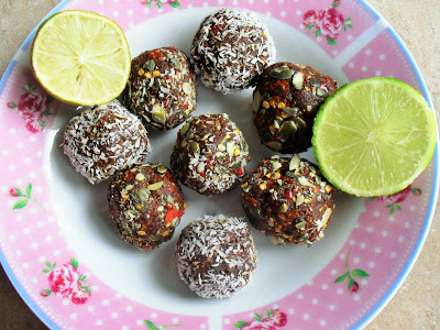 Body boosting mexican bliss balls! Breakfast Desserts energy balls Lunch snack vegan