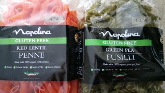 "Cheesy garlic bean & rocket pea ""pasta"" Dinner Grainfree Lunch vegan"