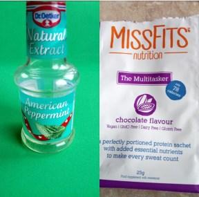 MissFits protein After Eight smoothie (sugar free) Breakfast snack vegan