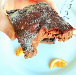 Keto chocolate orange brownies Desserts Grainfree snack