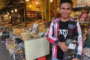 CAmbodian spices buy from old market sieam reap
