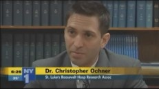 NY1 (Time Warner Cable News) in New York [taped 4-30-13] Discussing The Alzheimer's Diet (co-authored by Dr. Ochner)