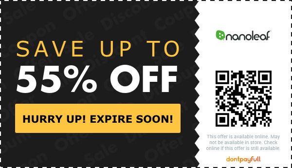 50 off nanoleaf coupon promo code