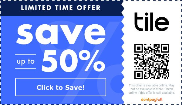50 off tile coupon promo code may 2021