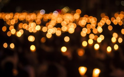 Vigil at Bell Tower memorializes community members