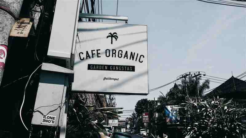 BALI FOOD REVIEW CAFE ORGANIC