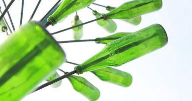 Építőipari alapanyagot állítanak elő üveghulladékból