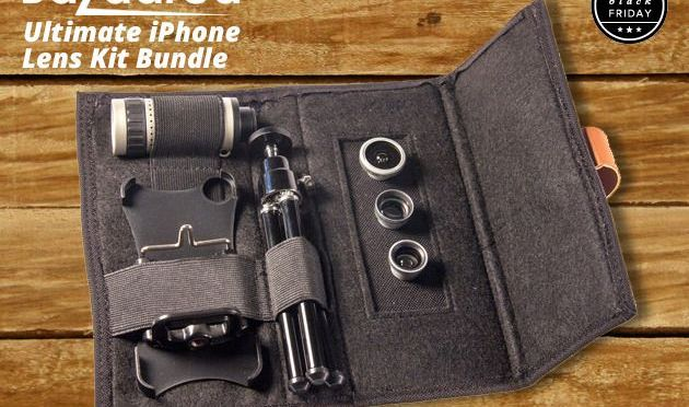 The Ultimate iPhone Photographer's Lens Kit