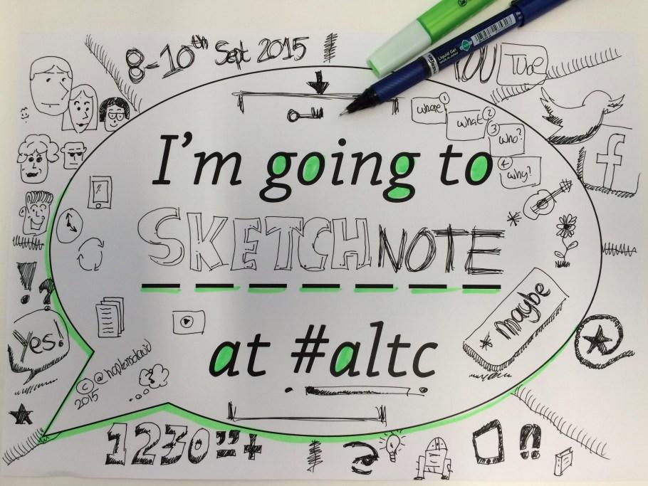 ALTC 2015 Sketchnote
