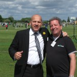 Mal Meets Up With John Hudson (PFA) At The Premier League Kicks Cup