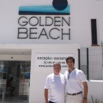 Mal in Portugal With Antonio.  Manager Of The Golden Beach Apartments
