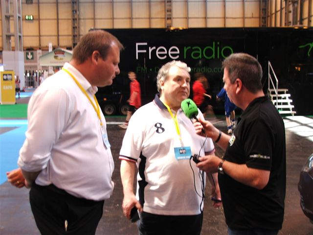 Mal talks to Tim and Russell Grant