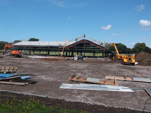 Work Goes On AT One Junior League On Merseyside Scheduled To Finish November 2014