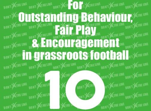 Don't X The Line REFspect Green Cards To Be Given Out On The Touchlines At Grassroots For Fair Play And Encouragement