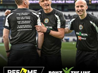 DXTL Visit Walton & Kirkdale JFL, To See The Referee Situation There.