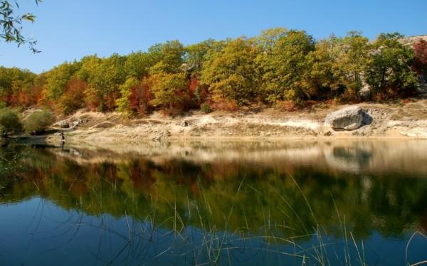 Красивые фото природы: Отражение осени, пейзаж