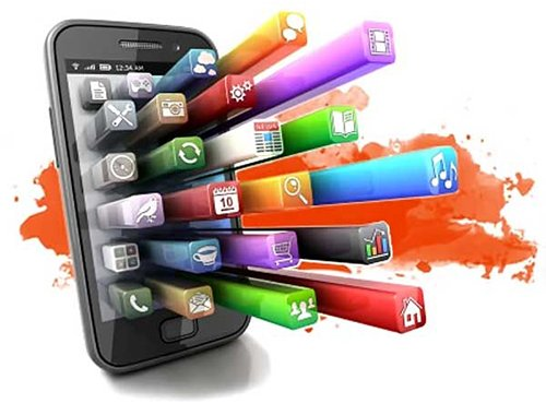 Mobile App Developers in Brentwood image png of an android & IOS phone