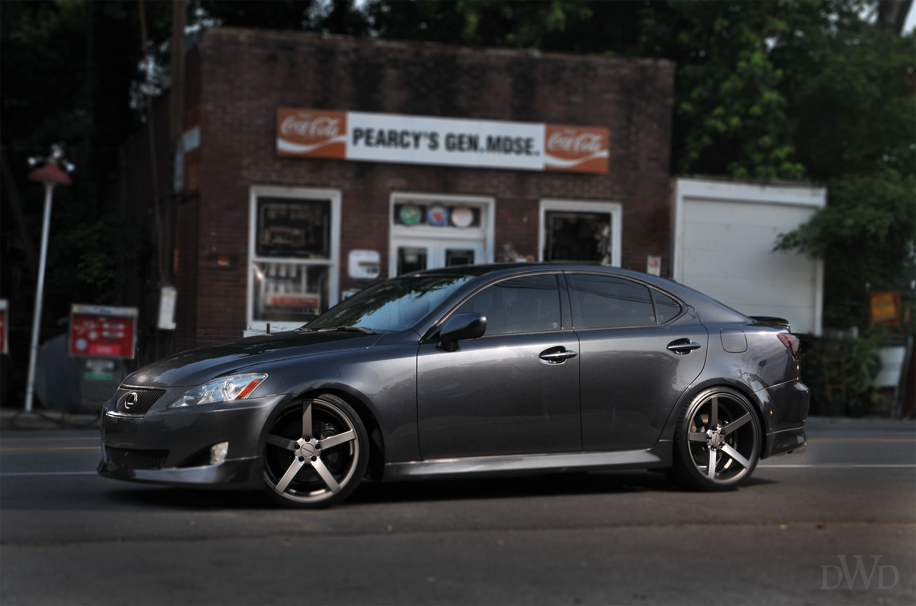 Vossen Wheels Presents Lexus Is 350 On Custom Wheels