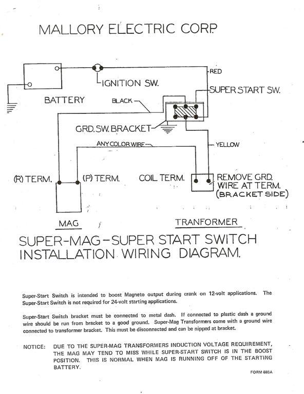 Mallory Unilite Wiring Diagram