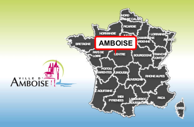 illustration pour Amboise (encore) une borne au Centre.