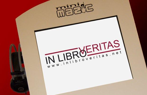 illustration pour Les bornes deviennent littéraires avec InLibroVeritas